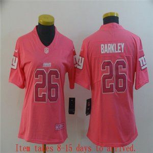 Women New York Giants Saquon Barkley Jersey